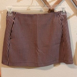 Urban Outfitters Pink Gingham Skirt